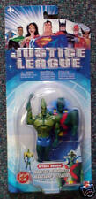 LIGA DE LA JUSTICIA ataque Armour Martian Manhunter Mattel