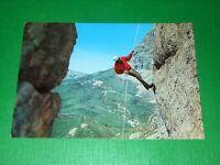 Cartolina Militaria - Carabinieri rocciatori 1975 ca