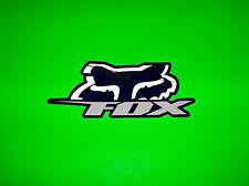 FOX RACING MOTOCROSS QUAD ATV BMX SKATEBOARD BLUE & WHITE BLITZ DECAL STICKER *