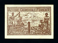 French West Africa:P-34,1 Franc,1944