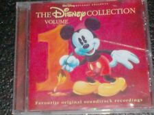 THE DISNEY COLLECTION VOLUME 1 - FAVOURITE ORIGNAL SOUNDTRACK RECORDINGS (1998)