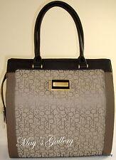 Calvin Klein Wristlet Hand Bag Handbag Purse Wallet Satchel Shopper BIG TOTE CK