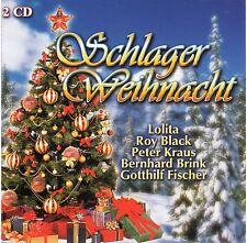 """German Christmas """" Schlager Weihnacht """" 40 Weihnachtslieder 2CD's FREE SHIPPING"""