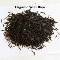 5 LB Grown Organic Long Grain Wild Rice Bulk Kosher Certified