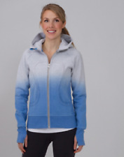 NWT Lululemon Special Edition Scuba Hoodie Dip Dye Gray Blue Ombre 4 Rare