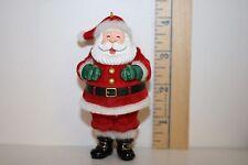Hallmark Ornament - Tickle Tickle Santa - Laughing - 2002
