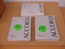 2008 Honda Accord service shop manual electrical wiring dealer repair