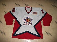 BUFFALO REGALS GAME USED MINOR LEAGUE HOCKEY JERSEY ALL SEWN HIGH QUALITY SZ 44