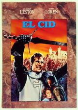 Charlton Heston EL CID internationaler Werbe - Flyer
