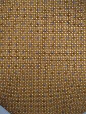 Mens Necktie Gold Gray Black White Square Geometric Daniel De Fasson (O)