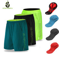 Men Baggy Cycling Shorts MTB Bike Sports Pants Reflective Cycling Shorts Gel Pad