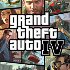 PS3 - Grand Theft Auto IV Playstation 3 Game Complete w/ Manual & Map