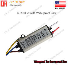 Constant Current LED Driver 12-20X1W Lamp Light Bulb Waterproof Power Supply