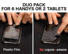 Liquid Armor-SCREEN PROTECTOR (Duo Pack: for 6 cellphone or 2 TABLET)