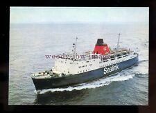 FE2634 - Sealink Ferry - Horsa , built 1973 - postcard