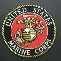 USMC MARINES MARINE CORPS EMBROIDERED PATCH 4 INCHES