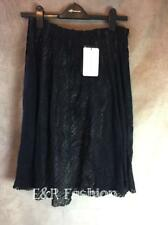 ZARA WOOL MIX SKIRT WITH NUDE LINING SIZE SMALL B16 REF: 7643 612