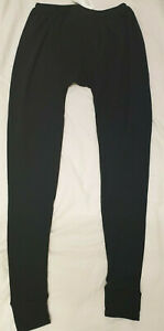 MEN'S SAS BLACK THERMAL DRAWERS ASSAULT UNDER TROUSERS - NEW
