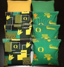 University of Oregon Ducks Cornhole Bean Bags 8 Aca Regulation Bags Top Quality!
