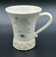 Collectible Russ Berrie Co. Irish Blessing Coffee Mug Tea Cup Tall Decore