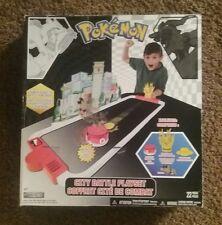 Pokemon City battle play set, expands 3 feet long