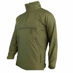 British Military Pcs Thermal Fleece Lined Softy Jacket Pullover Olive