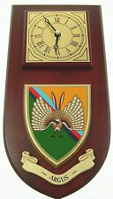 """ARGUS """"THE DET"""" 14 INTELLIGENCE CORPS CLASSIC HAND MADE TO ORDER WALL CLOCK"""