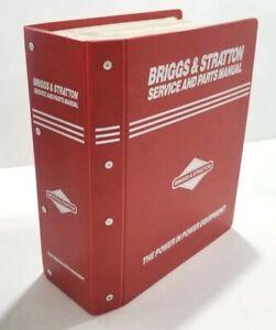 Vintage Briggs & Stratton Master Service Parts & Sales Manual 1982 thru 1993