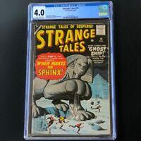 Strange Tales #70 (Atlas Comics 1959) 💥 CGC 4.0 💥 Sphinx Cover by Jack Kirby!