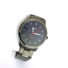 Fossil Mens Blue Minimalist Stainless Steel Link Band Quartz FS5377 Watch