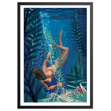 Deep Sea Diva by Naturel Signed & #  Ltd. Ed. Printers Proof W/ COA