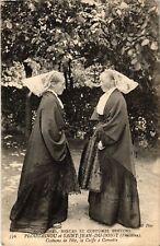 CPA  Coutumes - Moeurs et Costumes Bretons - Costume de Fete  (482748)
