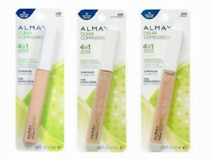 ALMAY CLEAR COMPLEXION BLEMISH ERASER CONCEALER HYPOALLERGENIC. CHOOSE SHADE