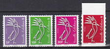New caledonia 2018 Cagou werling full set with the adhesive from booklet