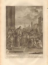 1770  ANTIQUE PRINT -BIBLE-THE CENTURIAN'S FAITH
