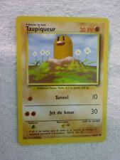 Carte pokémon taupiqueur 47/102 commune set de base wizard