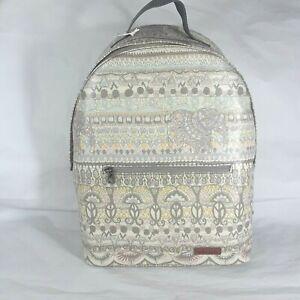 Sakroots Artist Circle Backpack One World Diane Barcelowsky Elephant 108701