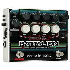 Electro Harmonix Bass Preamp & DI Effects Pedal for Bass Guitar