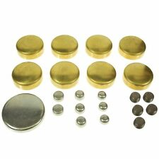 Melling MPE-100BR SBC Brass Freeze Frost Expansion Plugs Chevy 283 305 327 350
