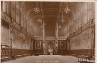 Postcard - London - The Royal Gallery - House of Lords