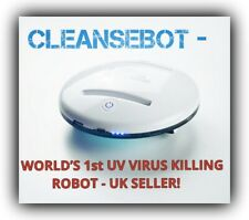 CleanseBot World's First UV Bacteria Killing Robot = BRAND NEW = SEALED! = L👀K!