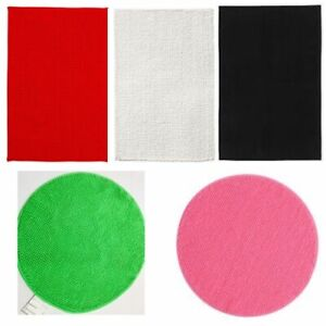IKEA BADAREN Microfibre Absorbent Bath Mat in two shapes and various colours UK