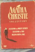 """DVD  Collection """"AGATHA CHRISTIE COLLECTION""""  3 Dischi Assassinio Delitto"""