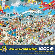 CROWD PLEASERS PUZZLE THE BEACH JAN VAN HAASTEREN 1000 PCS #3342-22