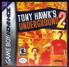 GBA Tony Hawk's Underground 2 (2004) Brand New & Factory Sealed