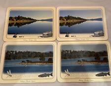 Fishing Bronte Lagoon Brady's Lake Placemats Set Of 4 Trout Tasmania Fly Lure