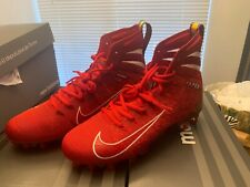 Nike Men's Vapor Untouchable 3 Elite Football Cleats AH7408-600 Red Size 8 New