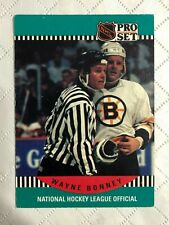 1990 ~ PRO SET HOCKEY ~ NATIONAL HOCKEY LEAGUE OFFICIALS ~ EF Condition