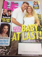 Us Weekly Magazine April 24 2017 SPENCER HEIDI BABY AT LAST Mel B JANET JACKSON