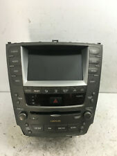 2006-2008 Lexus IS250 IS350 Radio Navigation Climate Control Display Screen CD
